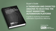Top 3 ways in which a relevant buyer's guide channelizes your