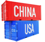 China UScontainer freight